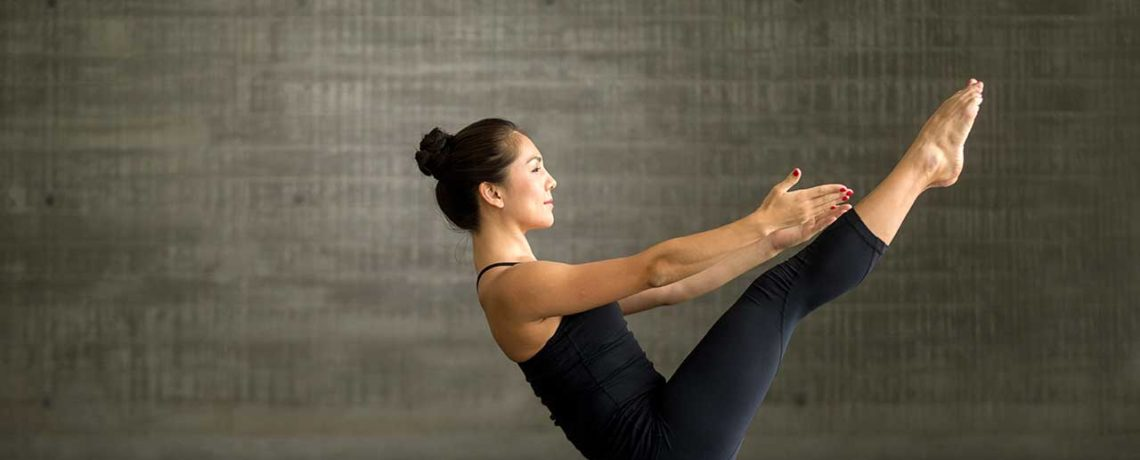 Find balance with Pilates